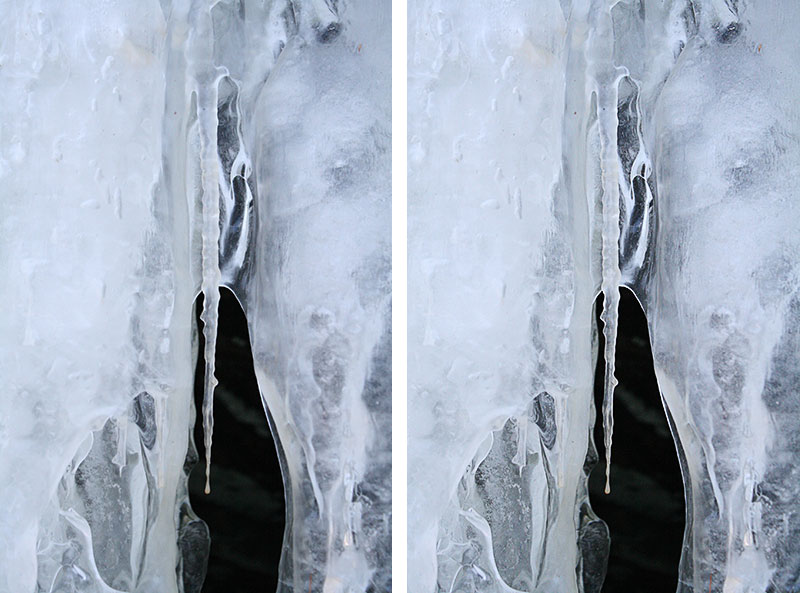 Add detail to Ice with Photoshop High Pass